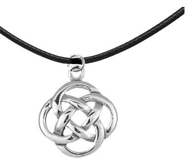 Кельтский кулон круглый узел