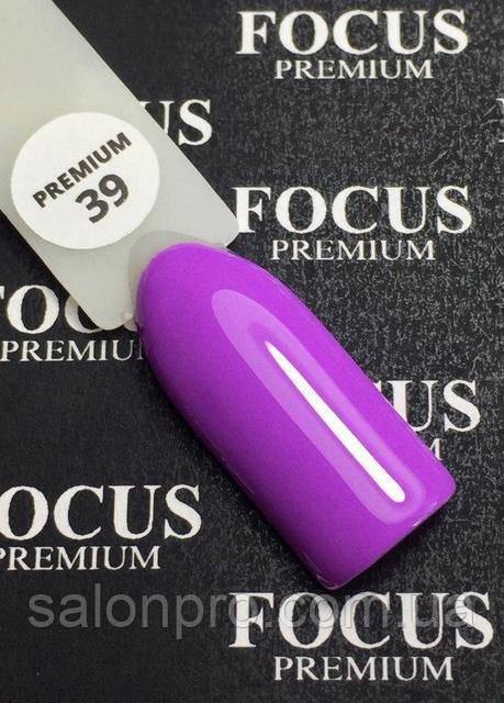 Гель-лак FOCUS premium №039 (лиловый, эмаль), 8 мл