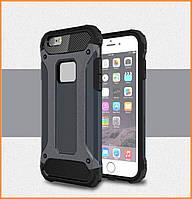 Бронированный противоударный TPU+PC чехол IMMORTAL для IPhone 6 / 6s Grey