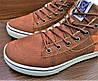 Женские коричневые кеды ботинки Vans Off the Wall, фото 3