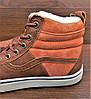 Женские коричневые кеды ботинки Vans Off the Wall, фото 4
