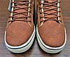 Женские коричневые кеды ботинки Vans Off the Wall, фото 5