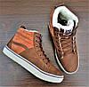 Женские коричневые кеды ботинки Vans Off the Wall, фото 10