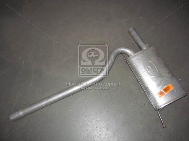 Глушитель центральный AUDI A4 (производство Polmostrow) (арт. 42005), AEHZX