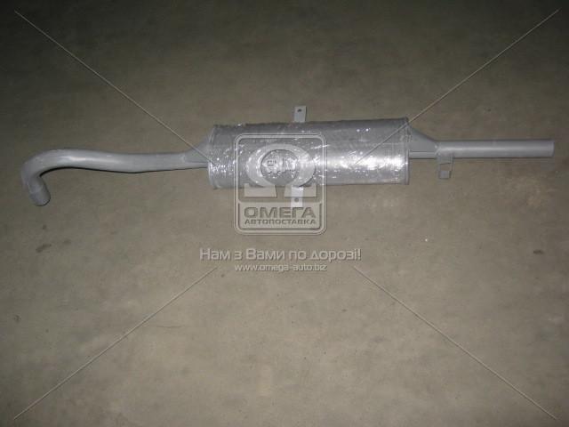 Глушитель ВАЗ 2101-2107 с минеральным наполнителем закатной (производство Украина) (арт. 2106-1201005), ACHZX