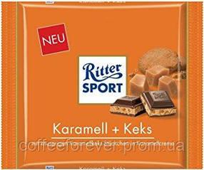 Ritter Sport Karamel Keks KING SIZE 250g.