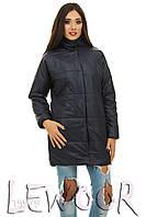 Удобная теплая куртка на синтепоне и кнопках