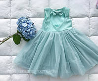 Платье фатиновое (мятное)
