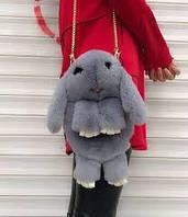 Рюкзак меховой Кролик 20 расцветок , фото 1
