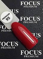 Гель-лак FOCUS premium №095 (вишневый, эмаль), 8 мл