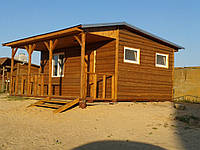 Дом каркасный деревянный