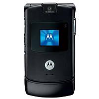 Оригинальный телефон Motorola RAZR V3  Black
