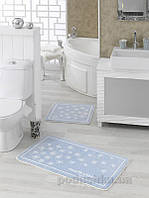 Набор ковриков в ванную комнату Marie Claire Breeze Mavi