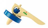 Игра nic деревянная Юла синяя