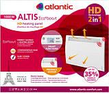 Электрообогреватель Atlantic ALTIS ECOBOOST CHG-3 PACK2 DAP 1000, фото 5
