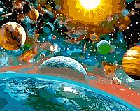 """Картина по номерам """"Красота вселенной"""" 40*50см"""