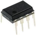 LM393N (STMicroelectronics) Компаратор. 2 канала, low-power, 1.3мкс, 2…36В