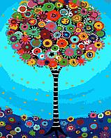"""Картина по номерам """"Дерево мечты"""" 40*50см"""
