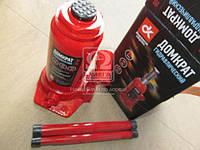 Домкрат бутылочный, 8т, красный H=200/385  (арт. JNS-08), ACHZX