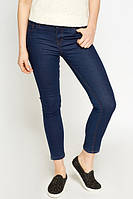 New Look Джинсы skinny красивого синего цвета xs