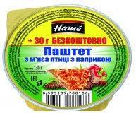 Паштет Hame Из мяса птицы с паприкой ж/б 130 гр