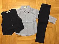 Комплекты тройки на мальчика в остатке , F&D , 1-5 рр.