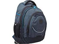 Рюкзак підлітковий Т14 Carbon, 46.5*33*15см ТМ1 ВЕРЕСНЯ