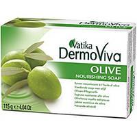 Мыло питательное Оливковое Vatika Dermoviva Olive Soap,115 г