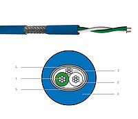 CAE CAE DMX 512 pach кабель  - 1 X 2 X 0,22 мм.кв. Синий