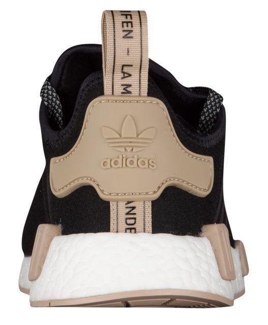 8ce40ee0c1654 ... Кроссовки Кеды (Оригинал) adidas Originals NMD R1 Black White Trace  Khaki ...