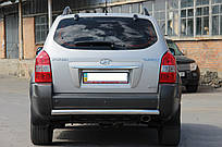Защита задняя Hyundai Tucson с 2006… /ровная