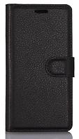Кожаный чехол-книжка  для Lenovo lemon k10 k10e70 черный