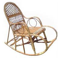 Кресло качалка лозовое плетенное Ажур № 11, фото 1