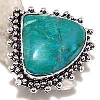 Бирюза красивое кольцо с бирюзой в серебре. Размер 19,5-20. Индия!, фото 1