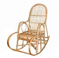 Плетенное Кресло-качалка из лозы Славута №1