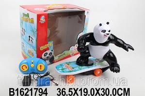 Скейтборд с пандой 48888A