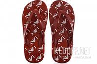 R6548-47 XK Armani Мужские тапочки Armani R6548-47 XK красный