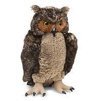 Мягкая плюшевая игрушка Сова для детей с 3 лет / Lifelike Plush Owl (высота 44 см) ТМ Melissa & Doug MD18264