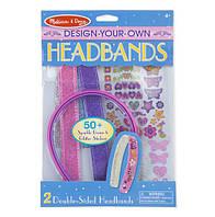 """Набор для творчества """"Обручи"""" для девочек от 4 лет / Headbands ТМ Melissa & Doug MD15548"""