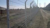 Забор для спортивных площадок Техна-Пром 1430*2500ограждения, фото 1
