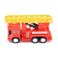 Пожарная машина под слюдой