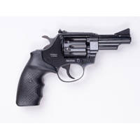 Револьвер под патрон  Флобера Safari РФ-431 резиновая рукоятка