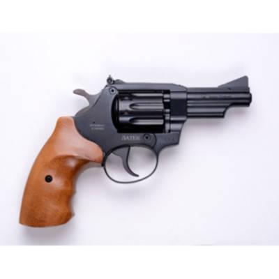 Револьвер под патрон  Флобера Safari РФ-431 буковая рукоятка, фото 2