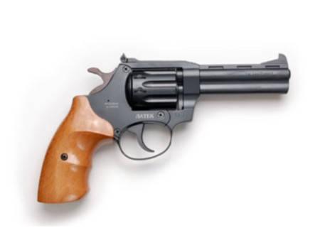 Револьвер под патрон Флобера Safari РФ-441 Magnum буковая рукоятка, фото 2