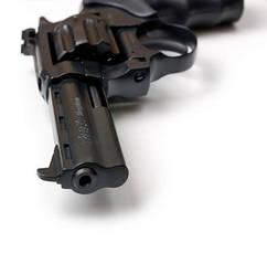 Револьвер под патрон Флобера Safari РФ 441 Magnum пластиковая рукоятка, фото 3