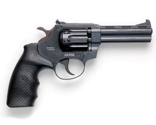 Револьвер под патрон Флобера Safari РФ-441 Magnum резиновая рукоятка