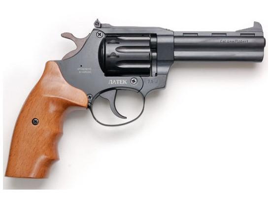 Револьвер под патрон Флобера Safari РФ-441 Magnum ореховая рукоятка