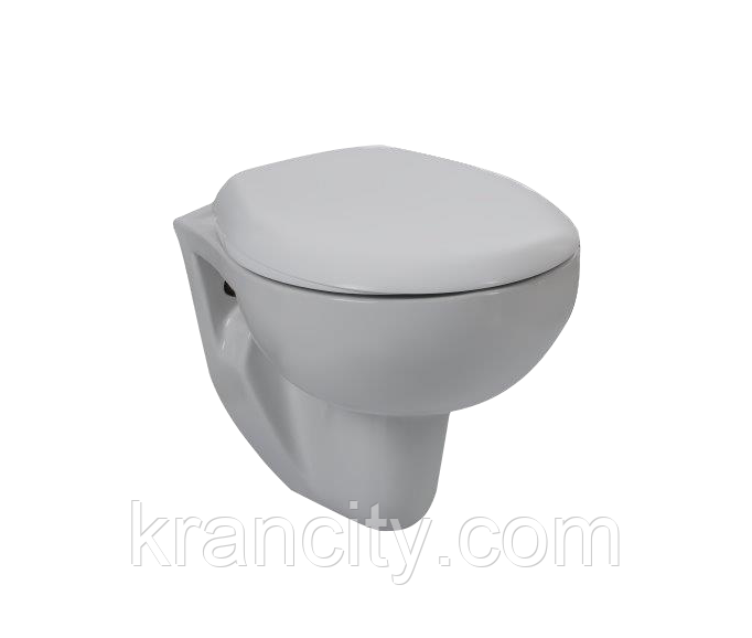 Унитаз подвесной, сиденье полипропелен VOLLE MARO 13-52-321,Испания
