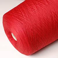 Пряжа Folco, красный (50% меринос, 50% акрил; 1400 м/100 г)