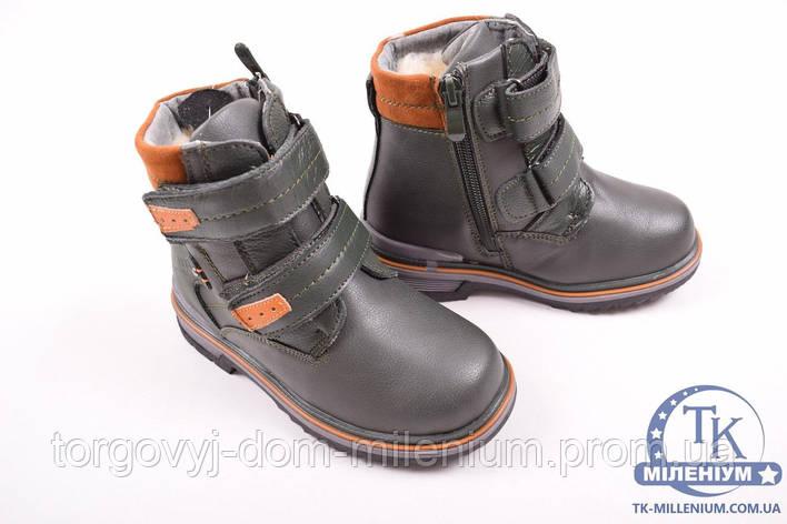 Ботинки для мальчика зимние на меху UFOQQ B2205-5 Размер:28, фото 2